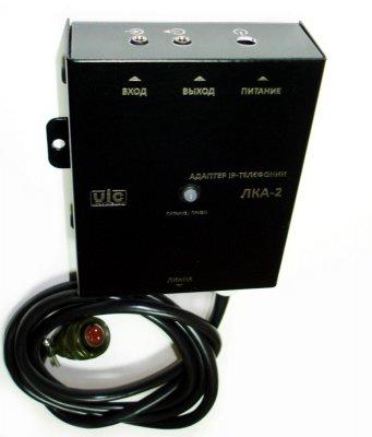 ЛКА-2 адаптер для IP телефонии