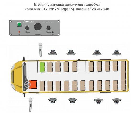 ТГУ ТУР для автобуса